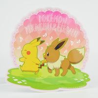 Pokemon Japan Sun & Moon 4-Inch Collectible Sticker