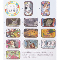 Disney Japan Square Can Badge 2-Inch Pin Collection Vol. 2