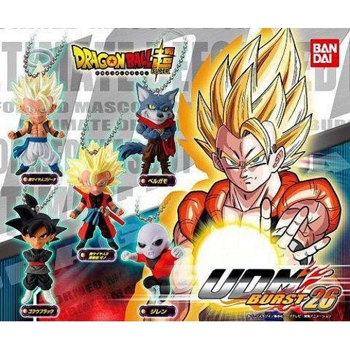 Dragon Ball Z UDM Burst 26 Mascot Key Chain Mini-Figure