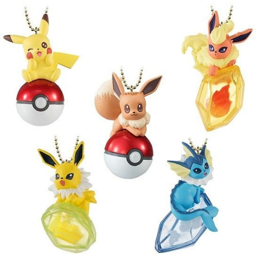 Pokemon Twinkle Dolly Mascot Key Chain Figure