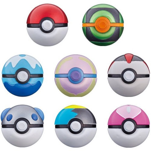 Pokemon Ball Collection Revival Series 2.5-Inch Cosplay Monster Ball