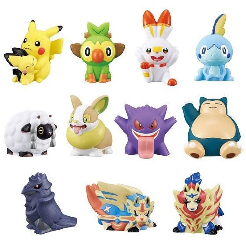 Pokemon Sword And Shield Departure Kids Finger Puppet 1-Inch Mini-Figure