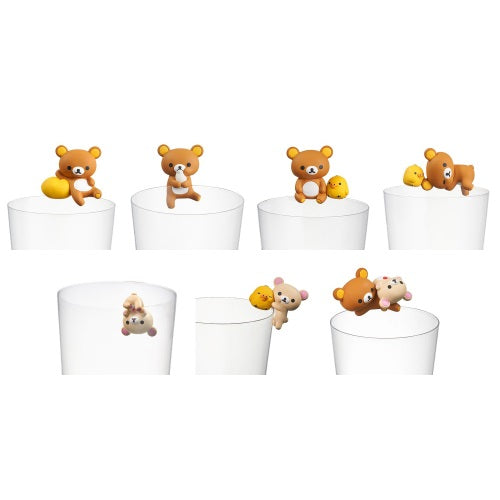 San-X Rilakkuma Kitan Club Putitto Glass Hanger Mini-Figure