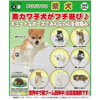 Putitto Series Shibu Inu Dog Kitan Club Glass Hanger Mini-Figure