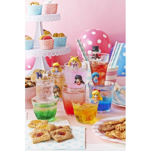 Sailor Moon Ochatomo Prism Cafe Glass Hanger Mini-Figure