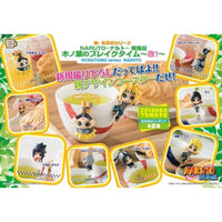 Naruto Konoha Break Time Series Ochatomo Cup Hanger Mini-Figure