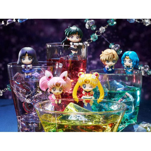 Sailor Moon Ochatomo Cosmic Heart Cafe Glass Hanger Mini-Figure