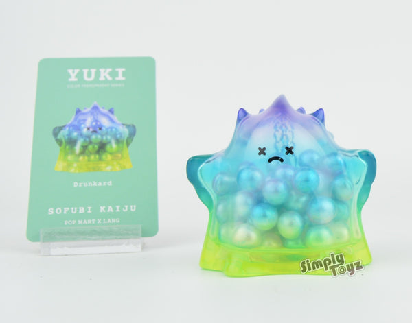 "Sofubi Kaiju Yuki Color Transparent Series 2.5"" Vinyl Mini-Figure"