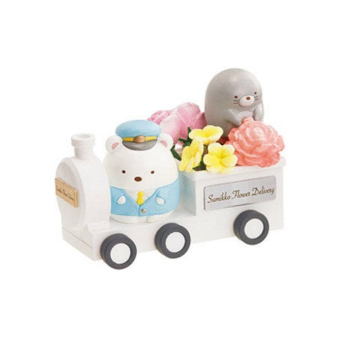 San-X Sumikko Gurashi Flower Delivery Miniature Doll Furniture