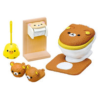 San-X Rilakkuma Wash Room Rement Miniature Doll Furniture