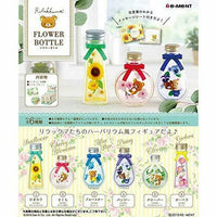 San-X Rilakkuma Flower Bottle Rement 3-Inch Collectible Toy