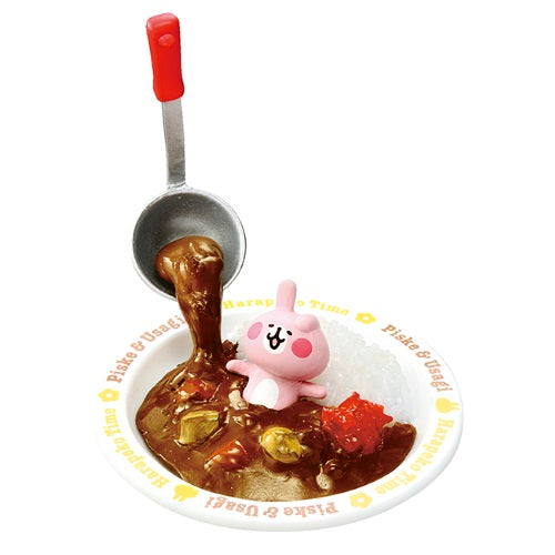 Pisuke And Rabbit Hungry Time Rement Collectible Mini-Figure