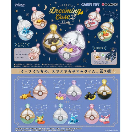 Nintendo Pokemon Dreaming Case 2 Re-ment Collectible 3-Inch Figure