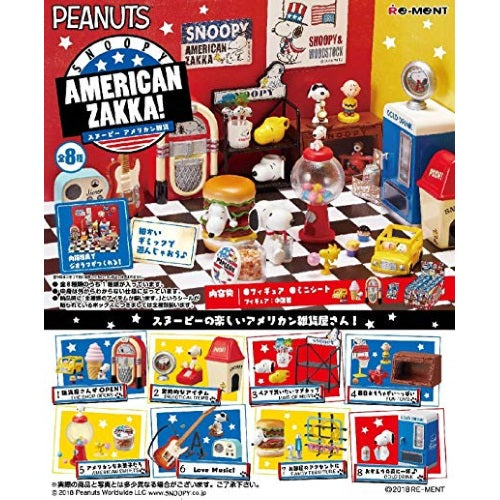 Peanuts Snoopy American Zakka Rement Miniature Doll Furniture