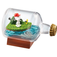 Peanuts Snoopy Life In USA 3-Inch Rement Terrarium Collectible