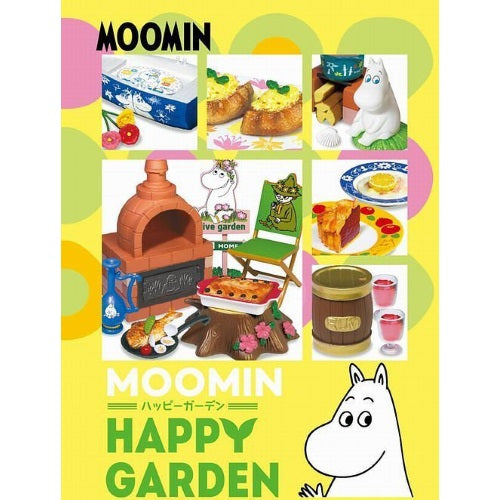 Moomin Happy Garden Rement Miniature Doll Furniture