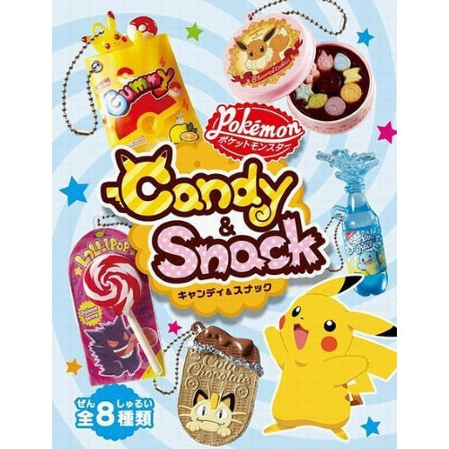 Pokemon Candy And Snack Rement Collectible Miniature Key Chain