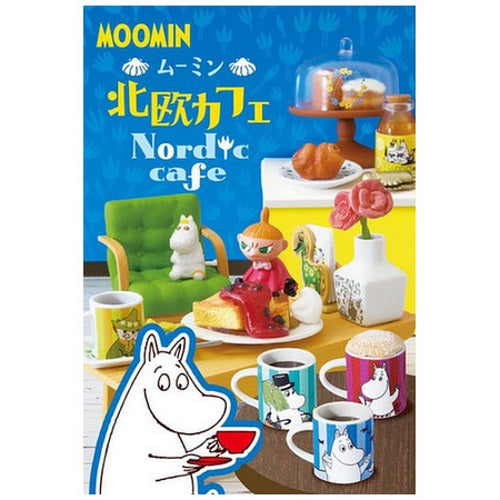 Moomin Nordic Cafe Rement Miniature Doll Furniture