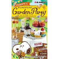 Peanuts Snoopy's Garden Party Rement Miniature Doll Furniture