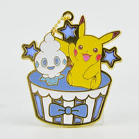 Pokemon Pikachu Sweets Stained Glass Ball Chain Key Chain