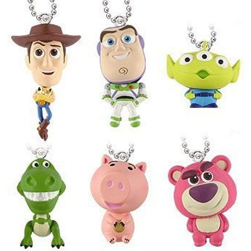 Disney Toy Story Puru Puru Mascot Bobble Head Key Chain