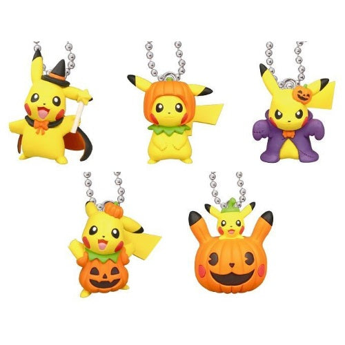 Pokemon Pikachu Halloween Mascot Key Chain Figure