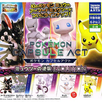 Pokemon Mewtwo Strikes Back Evolution Capsule Act Takara Tomy Mini-Figure