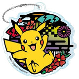 Pokemon Kirie Series Acrylic 2.5-Inch Key Chain