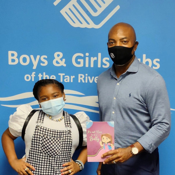 JAYLA KELIS MET WITH CEO MR. RON GREEN OF THE BOYS & GIRLS CLUBS OF TAR RIVER REGION