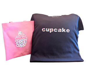 CupCake🧁 T-Shirt With Matching Tote Bag