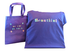 Beautiful T-Shirt With Matching Tote Bag😍