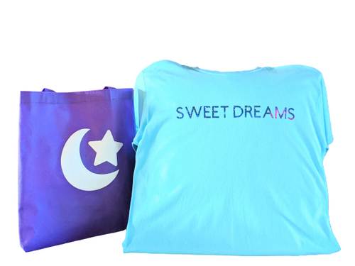 SweetDreams😴T-Shirt With Matching Tote Bag