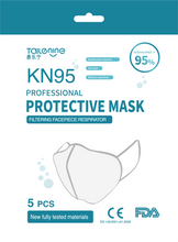 Load image into Gallery viewer, KN95 Mask - 5 Count