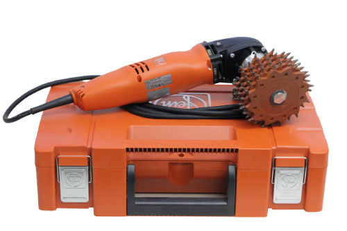 Fein 2500 rpm Electric Polisher to Power MULTI 8 Disc TER4001009