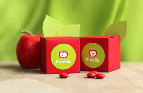 Ronde LABELS 'appel' - 44 mm