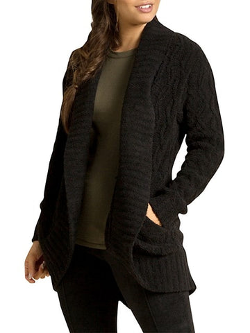 CozyChic Cable Cardigan
