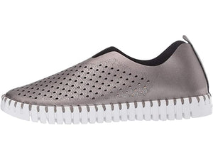 Ilse Jacobsen Tulip Perforated Slip-On Sneaker