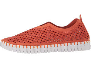 Ilse Jacobsen Tulip Perforated Slip-On Sneaker Camelia