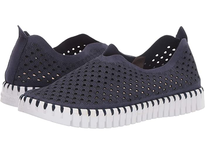 Tulip Perforated Slip-On Sneaker
