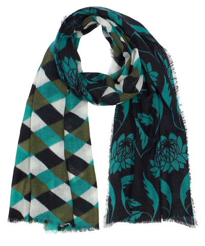 Lattice Oblong Scarf