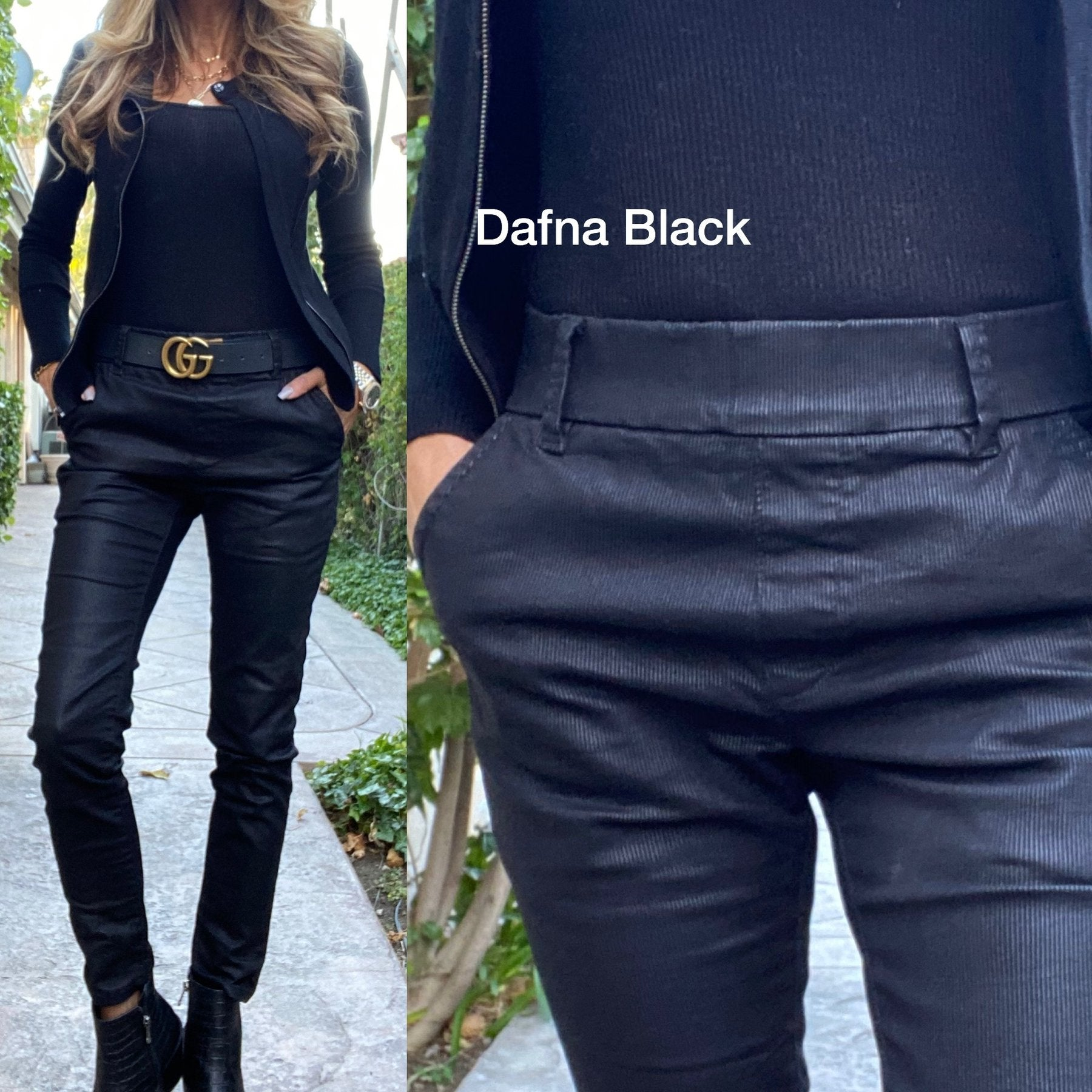 Dafna Black Original Pant