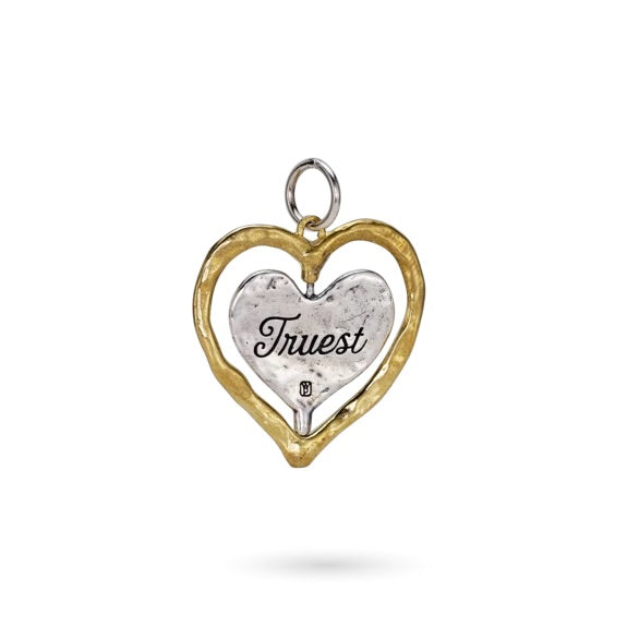 Truest Heart Spinner Pendant