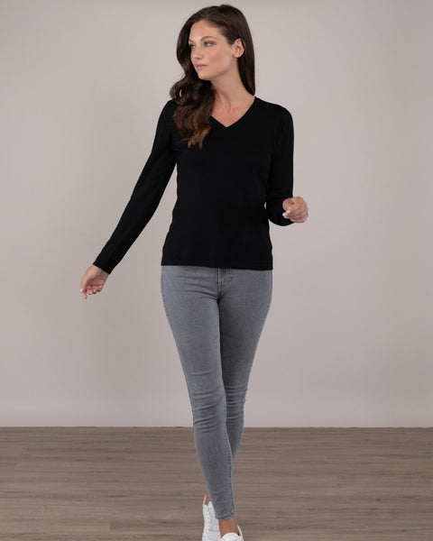 Classic Vneck Sweater