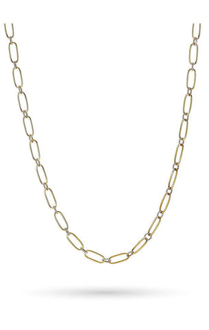 "Winding Way 18"" Paperclip Chain"