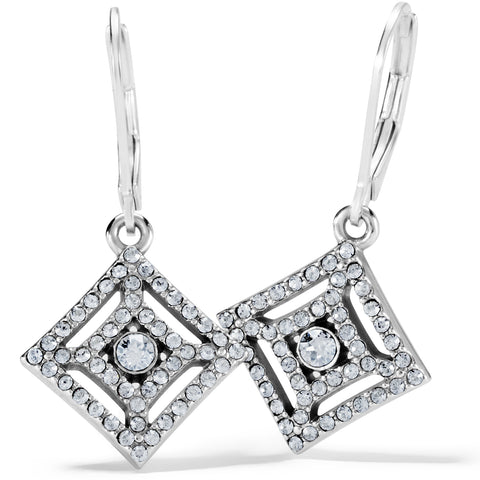Illumina Diamond Leverback Earrings