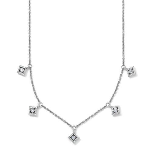 Illumina Diamond Drops Necklace