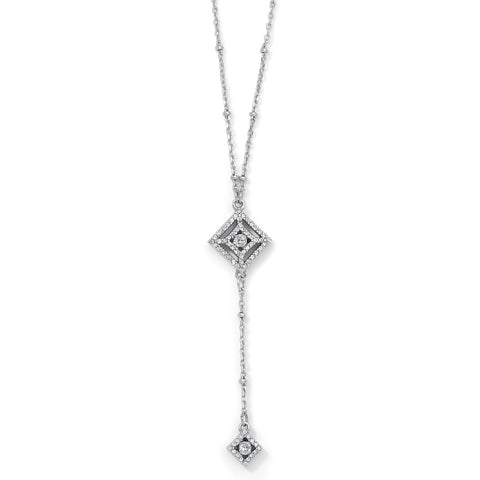 Illumina Diamond Y Necklace