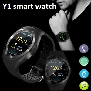 Y1 Bluetooth Smart Watch Touch Screen Waterproof Bluetooth Wearable Android Wristwatch