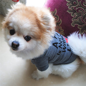 Dog Clothes For Small Dogs Soft Pet Dog Sweater Clothing For Dog Summer Chihuahua Clothes