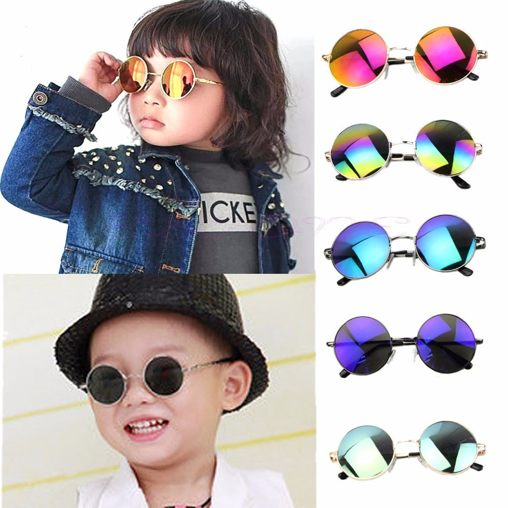 Young and Fab - Fashion Boys Girls accessories UV classic Protection Goggles Eyewear Sunglasses high quantity coating glasses oculos